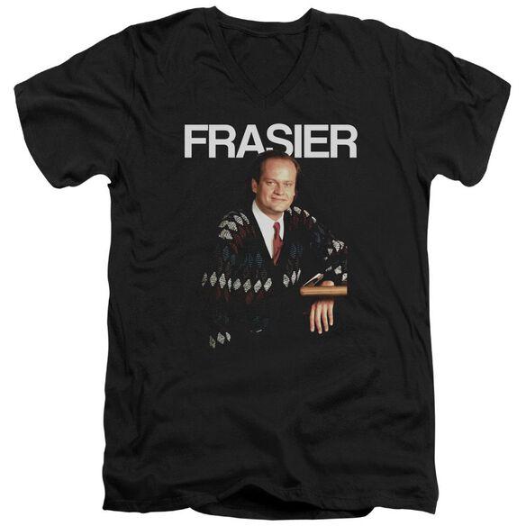 Cheers Frasier Short Sleeve Adult V Neck T-Shirt