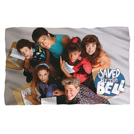 Saved By The Bell Group Shot Fleece Blanket