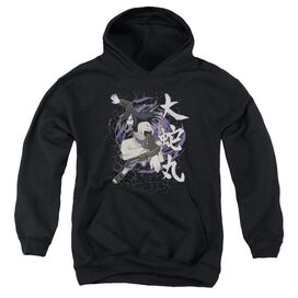 Naruto Leaves Headband Youth Pull Over Hoodie