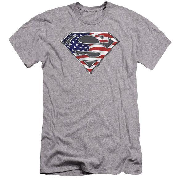 Superman All Premuim Canvas Adult Slim Fit Athletic