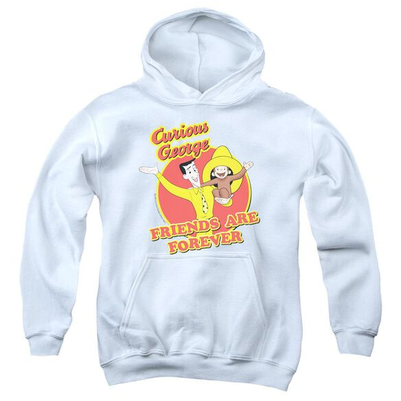 Curious George Friends Youth Pull Over Hoodie