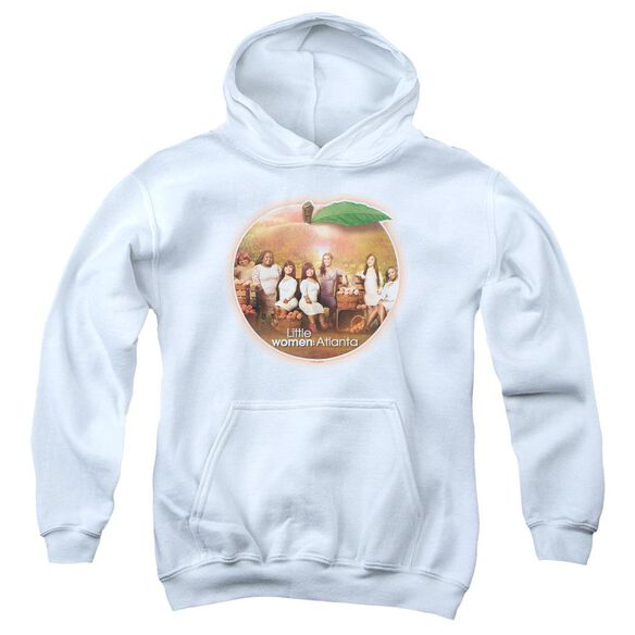 Little Women Atlanta Peach Pie Youth Pull Over Hoodie