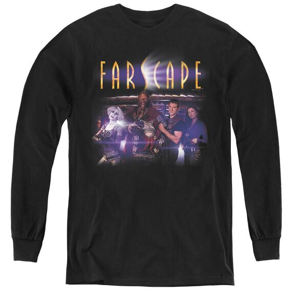 Farscape Flarescape - Youth Long Sleeve Tee - Black