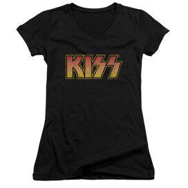 Kiss Classic Junior V Neck T-Shirt