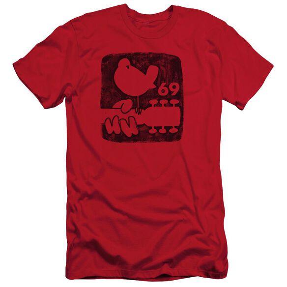 Woodstock Summer 69 Short Sleeve Adult T-Shirt