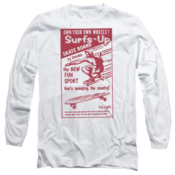 SURFS UP - ADULT 18/1 - WHITE T-Shirt