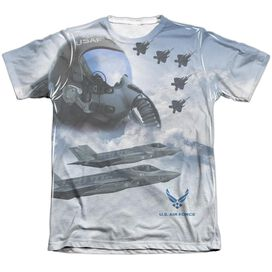 Air Force Pilot Adult Poly Cotton Short Sleeve Tee T-Shirt