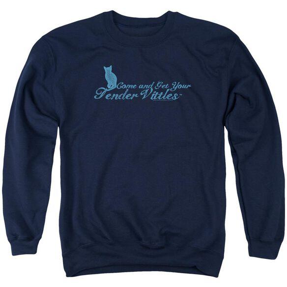 Tender Vittles Come And Get Em Adult Crewneck Sweatshirt