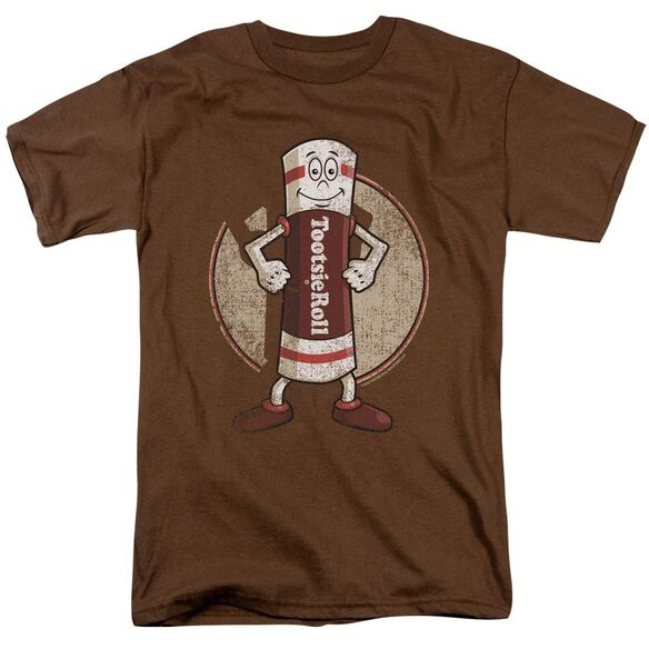 Tootsie Roll Tootsie Man Short Sleeve Adult Coffee T-Shirt