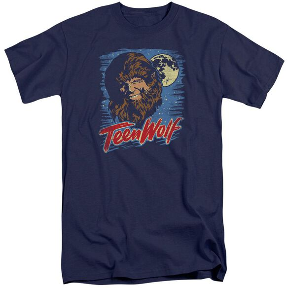 Teen Wolf Moon Wolf Short Sleeve Adult Tall T-Shirt