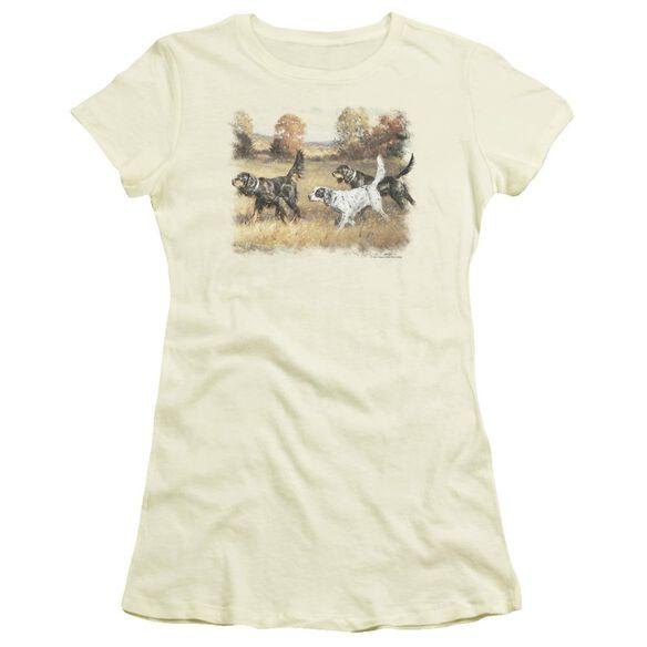 Wildlife Three Setters Short Sleeve Junior Sheer T-Shirt