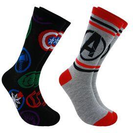 Sock-2pk Avengers-a