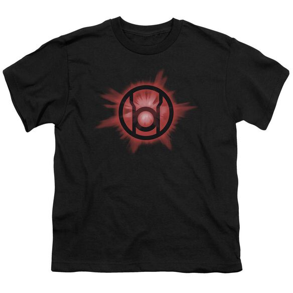Green Lantern Red Glow Short Sleeve Youth T-Shirt