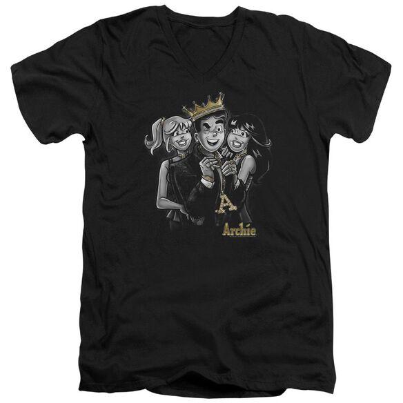 Archie Comics Ladies Man Short Sleeve Adult V Neck T-Shirt