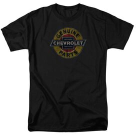 Chevrolet Genuine Chevy Parts Distressed Sign Short Sleeve Adult T-Shirt