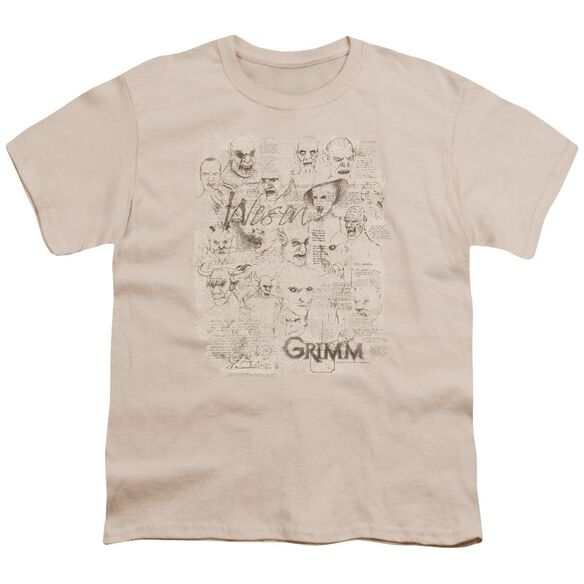 Grimm Wesen Sketches Short Sleeve Youth T-Shirt