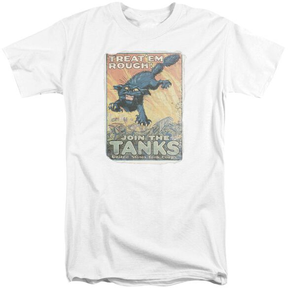 Army Treat Em Rough Short Sleeve Adult Tall T-Shirt