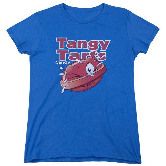 Dubble Bubble Tangy Tarts Short Sleeve Womens Tee Royal T-Shirt