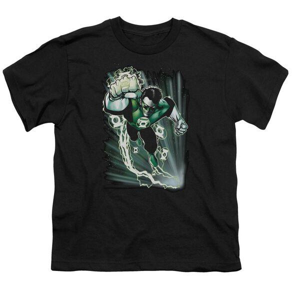 Jla Emerald Energy Short Sleeve Youth T-Shirt