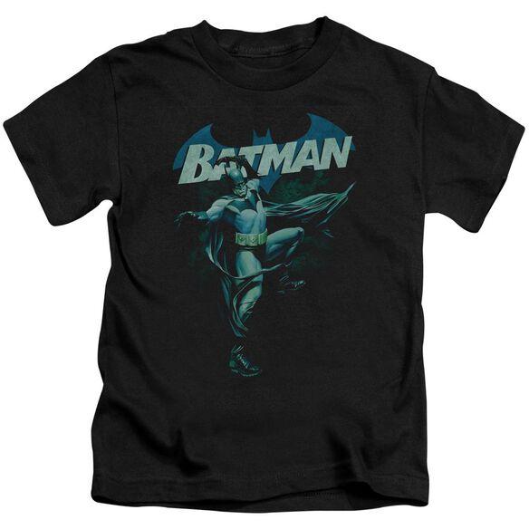 BATMAN BLUE BAT - S/S JUVENILE 18/1 - BLACK - T-Shirt