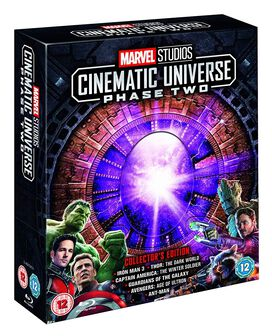 Marvel Studios Cinematic Universe Collector's Edition Box Set - Phase 2 [Blu-ray]