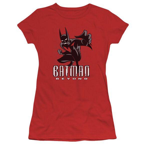 Batman Beyond Engage Short Sleeve Junior Sheer T-Shirt
