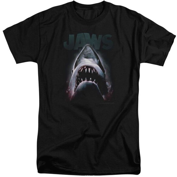 Jaws Terror In The Deep Short Sleeve Adult Tall T-Shirt