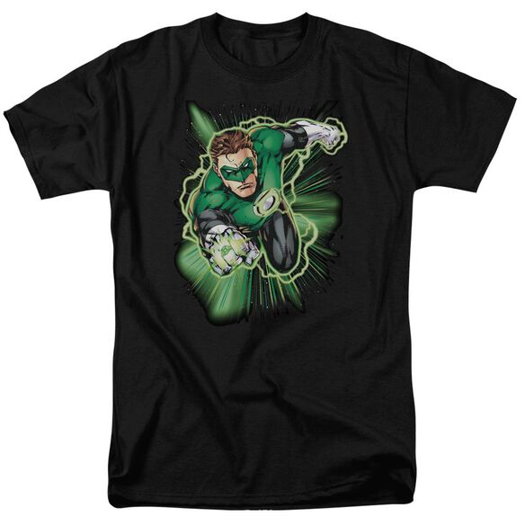 Jla Green Lantern Energy Short Sleeve Adult T-Shirt