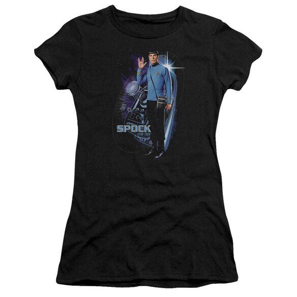 Star Trek Galactic Spock Short Sleeve Junior Sheer T-Shirt