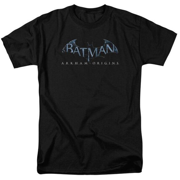 Batman Arkham Origins Logo Short Sleeve Adult T-Shirt