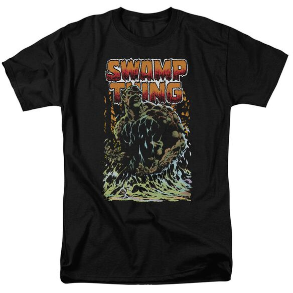 Jla Swamp Thing Short Sleeve Adult T-Shirt