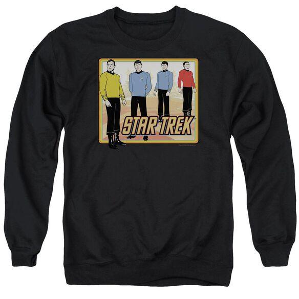 Star Trek Classic Adult Crewneck Sweatshirt