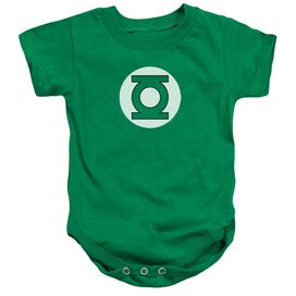 Dc Green Lantern Logo Infant Snapsuit Kelly Green Lg