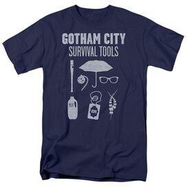 Gotham Survival Tools Short Sleeve Adult Navy T-Shirt