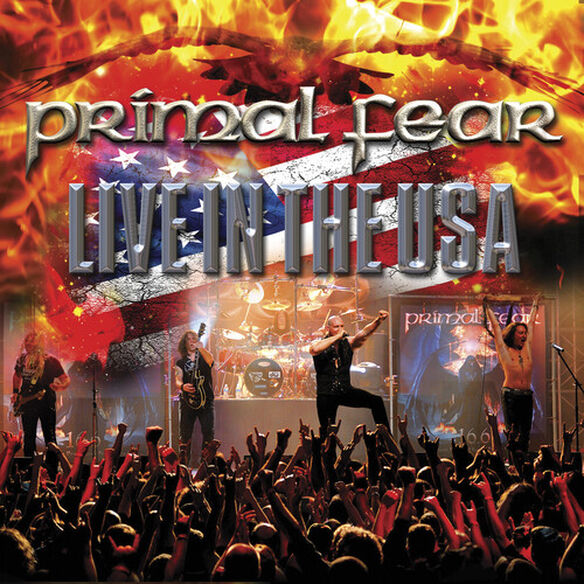 Primal Fear - Live in the USA (White/Blue/Red Marble)