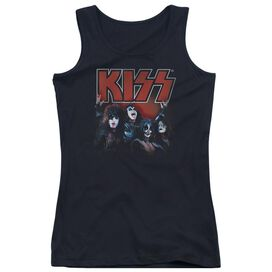 Kiss Kings - Juniors Tank Top - Black