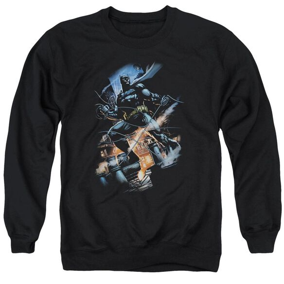 Batman Gotham Knight Adult Crewneck Sweatshirt