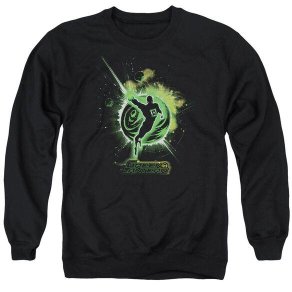 Green Lantern Shadow Lantern Adult Crewneck Sweatshirt
