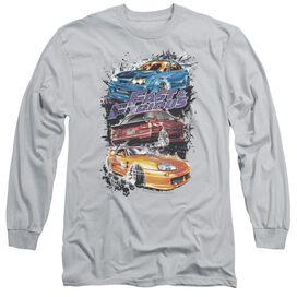 Fast And The Furious Smokin Street Cars Long Sleeve Adult T-Shirt