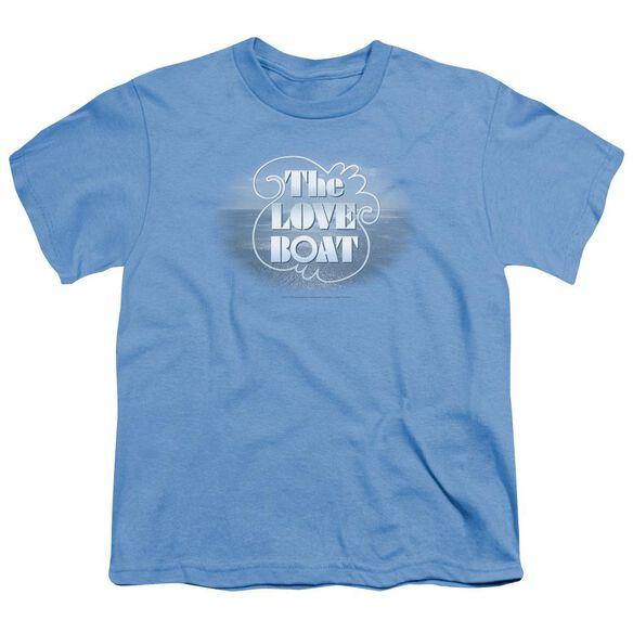 LOVE BOAT THE LOVE BOAT - S/S YOUTH 18/1 - CAROLINA BLUE T-Shirt