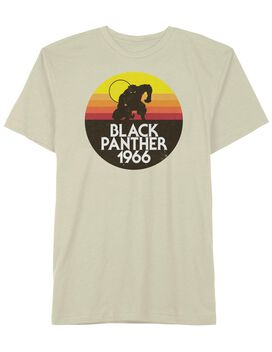 Black Panther 1966 Circle T-Shirt
