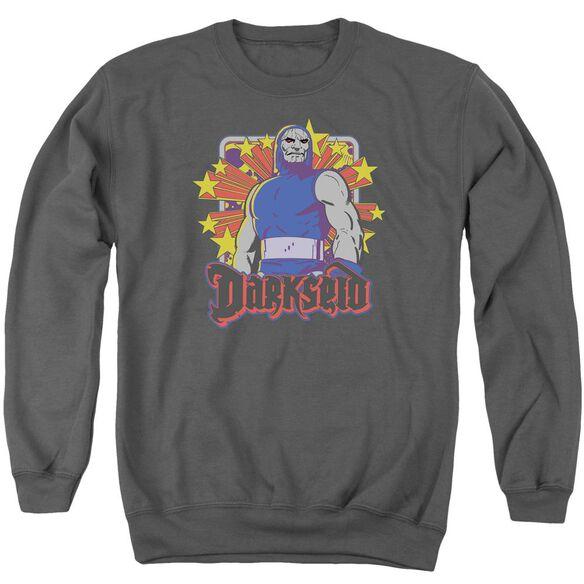 Dc Darkseid Stars Adult Crewneck Sweatshirt