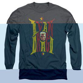 ROCKY IV IVAN - L/S ADULT 18/1 - CHARCOAL T-Shirt