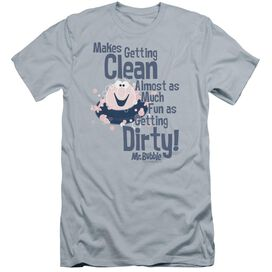 Mr Bubble Clean And Dirty Premuim Canvas Adult Slim Fit Light