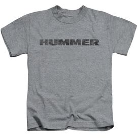 Hummer Distressed Hummer Logo Short Sleeve Juvenile Athletic T-Shirt