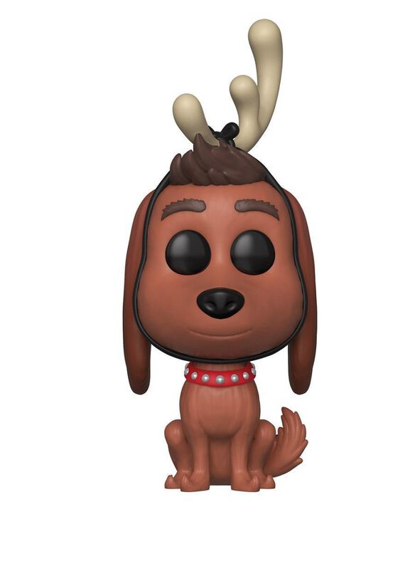 Funko Pop! The Grinch: Max With Antlers