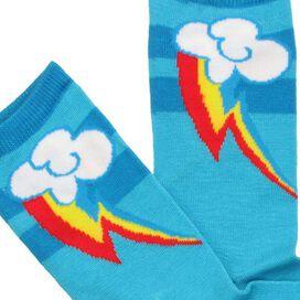 My Little Pony Rainbow Dash Mark Crew Socks