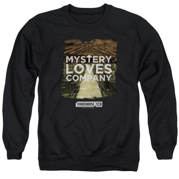 Warehouse 13 Mystery Loves Adult Crewneck Sweatshirt
