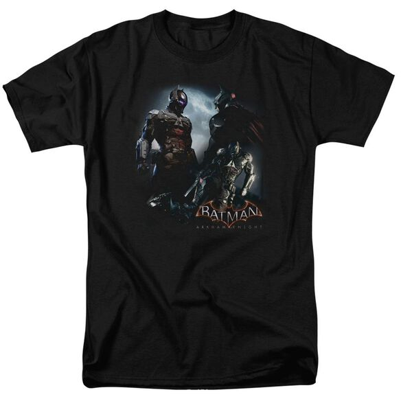 Batman Arkham Knight Face Off Short Sleeve Adult T-Shirt