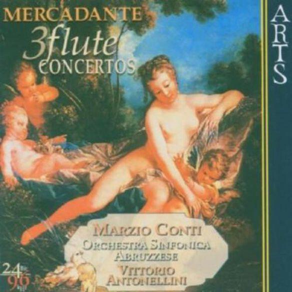 Marzio Conti - Three Flute Concertos